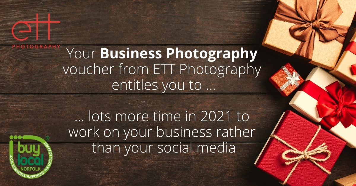 business photography christmas voucher