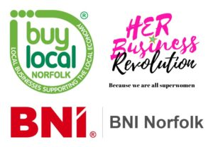 logos of networking groups in Norfolk